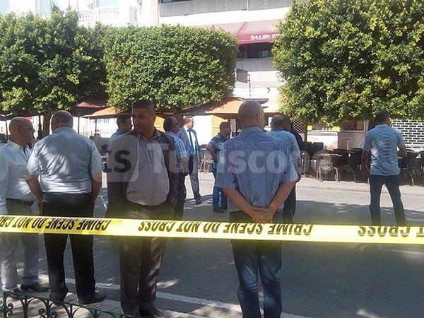 صور حصرية من شارع الحبيب بورقيبة إثر العثور على جسم مشبوه