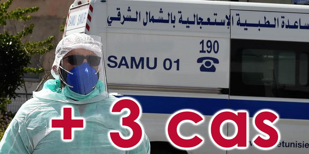 3 nouveaux cas de covid-19 en Tunisie