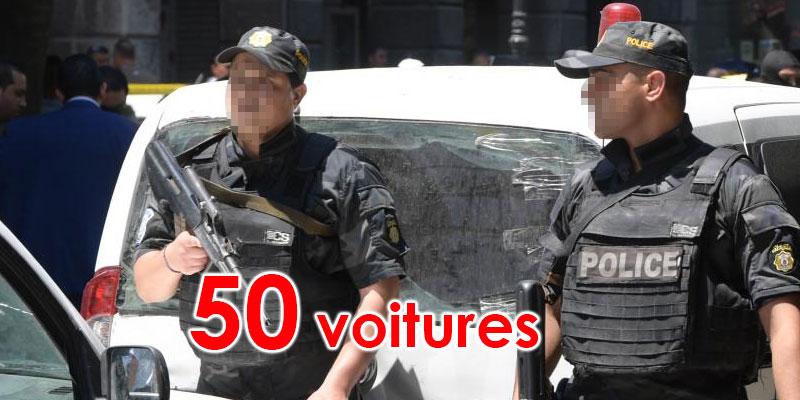 Saisie de 50 voitures qui n'ont pas respecté le confinement général