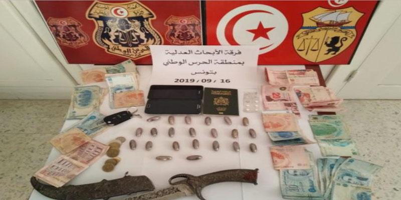 تونس: القبض على شخص بحوزته مواد مخدرة في الزهروني