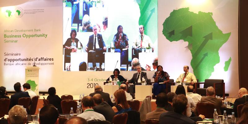 Atelier de Présentation des Opportunités d'Affaires de la Banque Africaine de Développement
