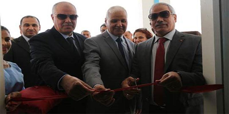 Inauguration laboratoires informatiques ATB à El Hamma, Kébili, Nafta