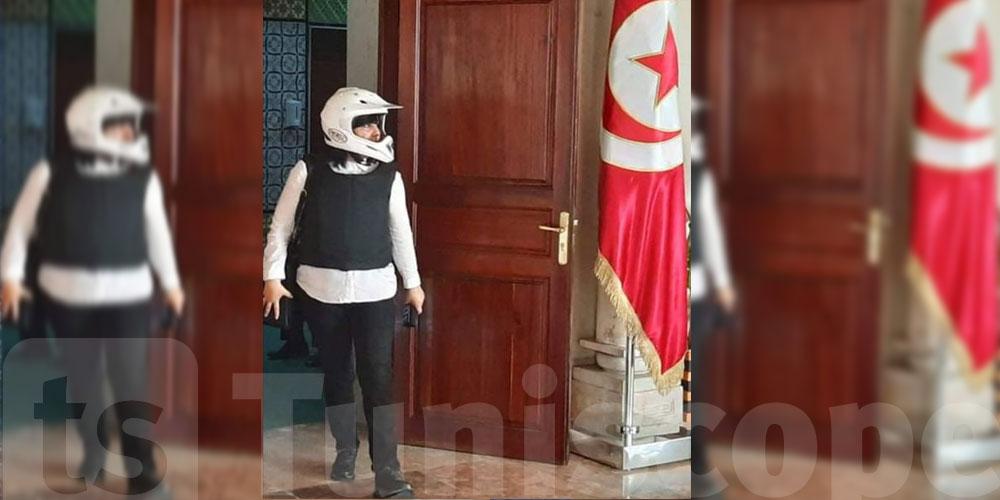 Photo du jour : Abir Moussi arbore à nouveau sa tenue préférée