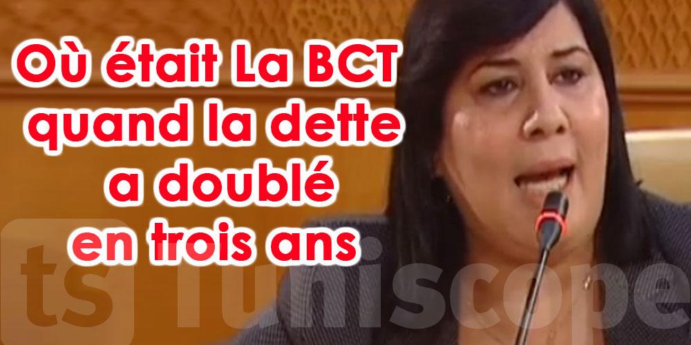 La BCT n'a pas réagi au bon moment selon Abir Moussi