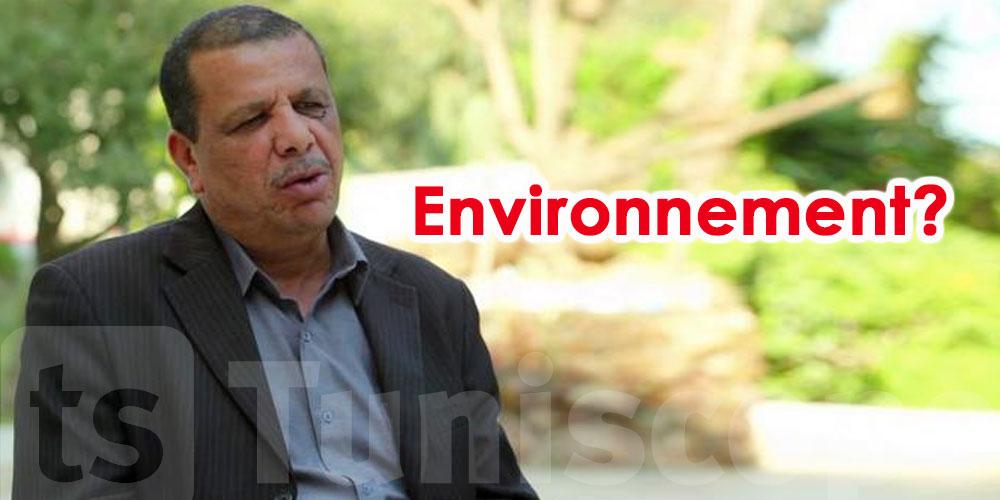 Quel est l'intérêt d'avoir un ministère de l'Environnement, déclare Adnen Hajji