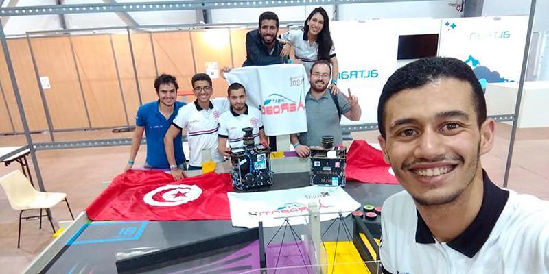 Les étudiants tunisiens 7 ème à la compétition internationale de l'EUROBOT