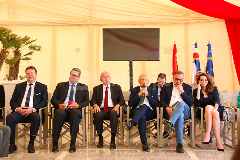Conférence du groupe d'impulsion pour le partenariat économique France-Tunisie