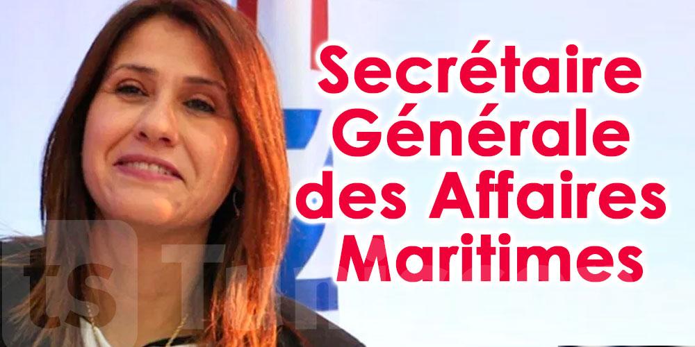 Asma Shiri nommée secrétaire générale des affaires maritimes
