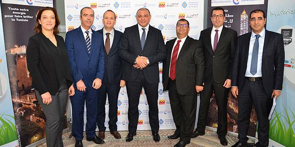 En photos : Attijari bank et la STEG signent une convention de financement du programme Prosol