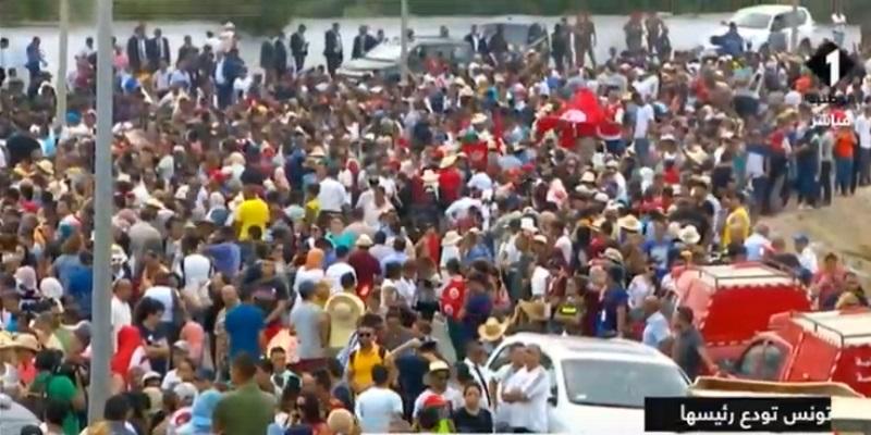 Leur venue en masse prouve que les Tunisiens aimaient leur président, dixit Ghannouchi