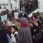 En vidéo : Humiliés et agressés, les enseignants de la Fac de Mannouba crient leur colère