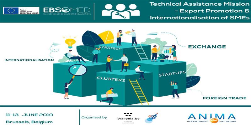 AWEX, accueille le CEPEX du 11 au 13 juin 2019 à Bruxelles dans le cadre du projet ''EBSOMED ''