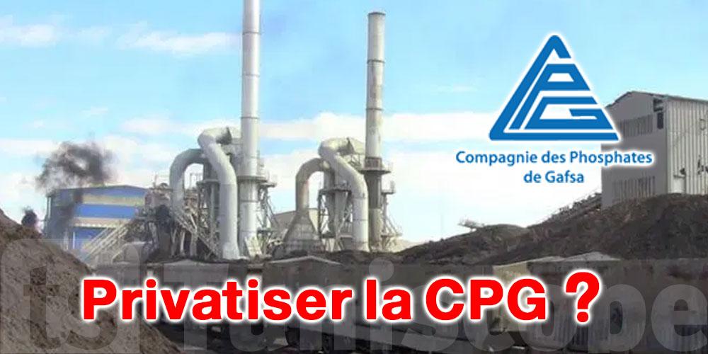 Mohamed Gasmi : La CPG se meurt et il y a un complot pour la privatiser