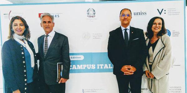 Ouverture de Campus Italie à la Cité des Sciences