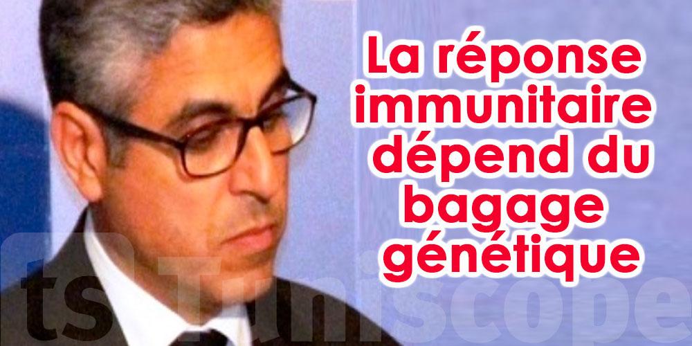 La réaction au virus dépend aussi des gènes du patient, déclare Chokri Hammouda