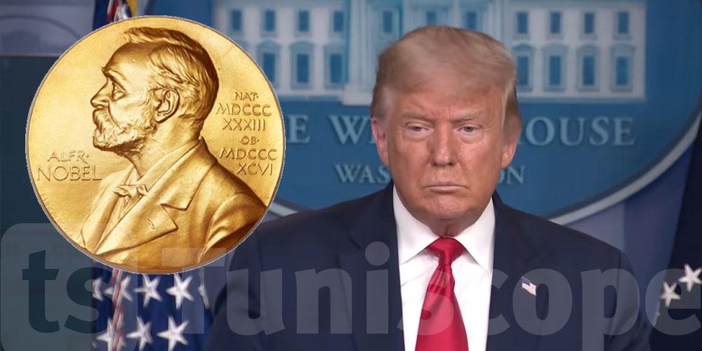 Donald Trump nommé pour le prix Nobel de la paix 2021