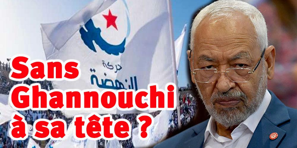100 membres d'Ennahdha contre une nouvelle candidature de Ghannouchi