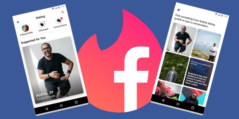 Perdant son bandeau bleu, Facebook veut aider les célibataires à se rencontrer
