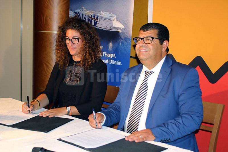Signature d'une convention de partenariat entre Attijari Bank et GNV