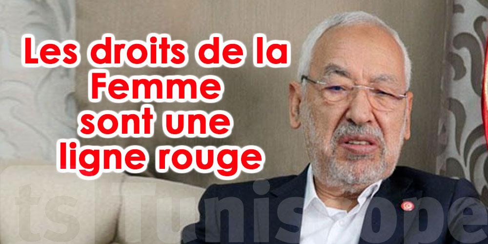 Rached Ghannouchi solidaire avec la femme tunisienne