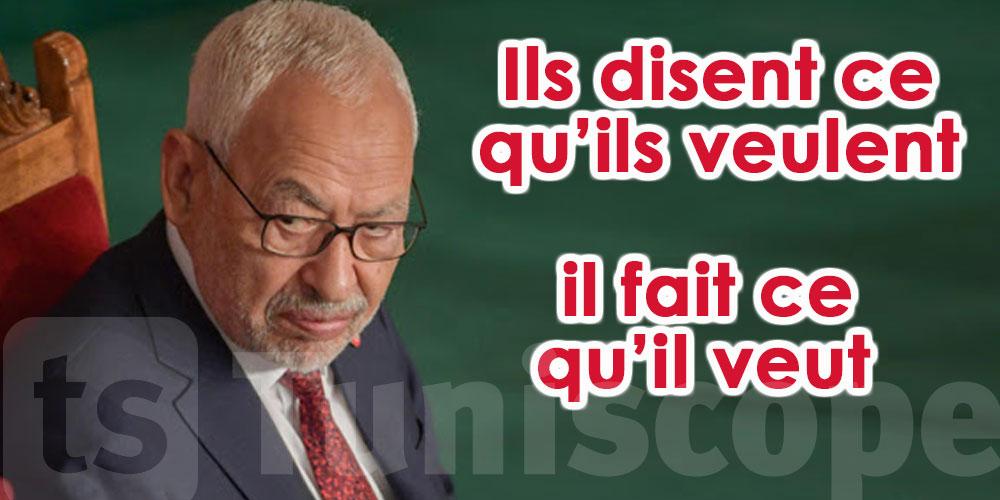 Ghannouchi : si mes frères me refusent à la tête d'Ennahdha, ils ont le droit de s'exprimer