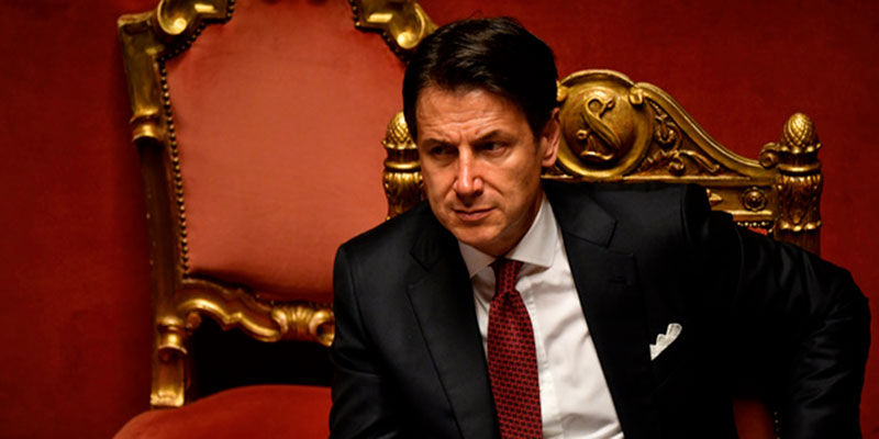 Démission du Premier Ministre italien Giuseppe Conte