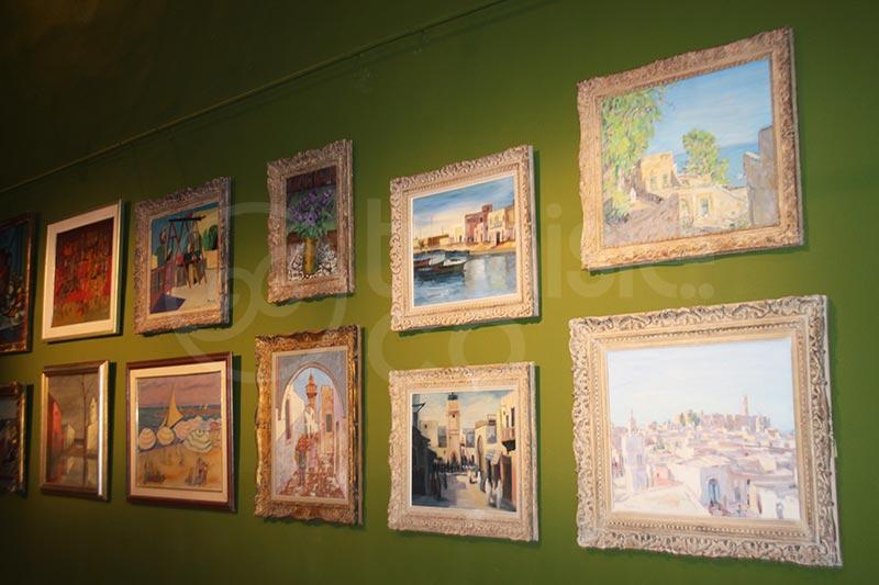 صور: افتتاح معرض الفنان التشكيلي التونسي المرحوم عبد العزيز القرجي