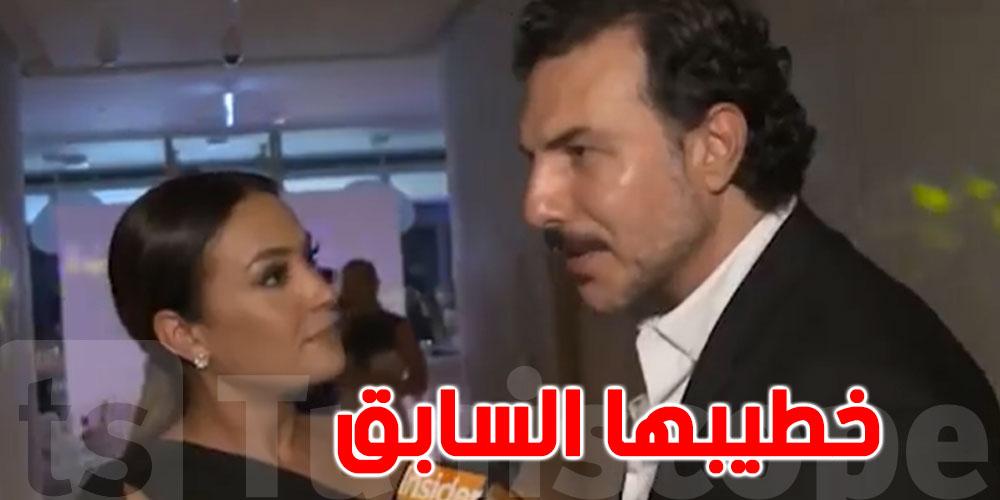 بالفيديو: رد فعل هند صبري بعد لقائها باسل خياط وزوجته