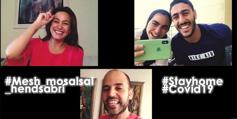 En vidéo : Hend Sabri lance une émission web pour tous les déçus....