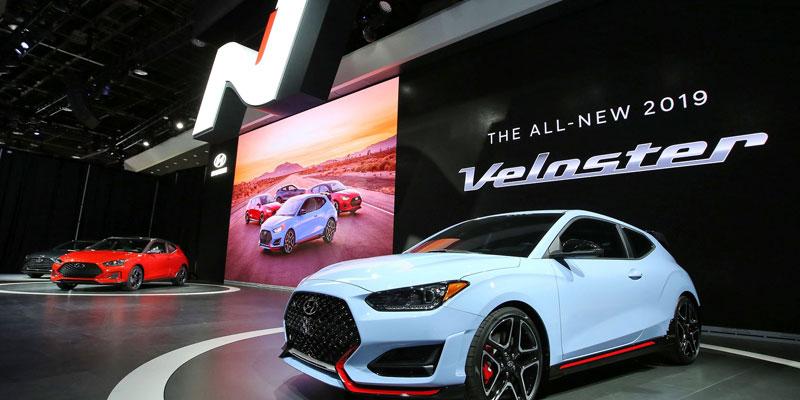 En vidéos : Hyundai Veloster 2019 fait ses premiers pas officiels au Salon de Detroit