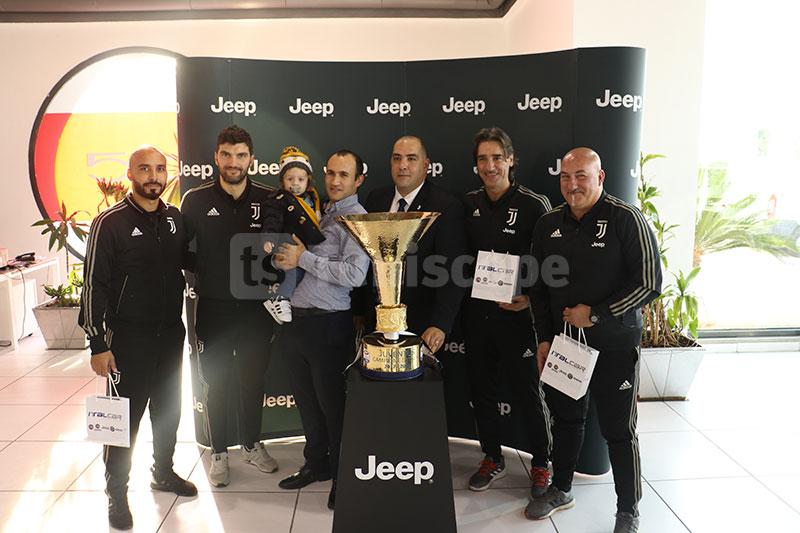 En photos : Le trophée du Championnat d'Italie en Tunisie