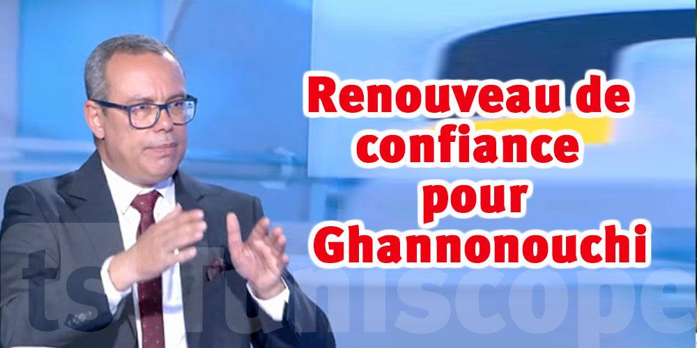 Imed Khmiri :Pas de retrait de confiance de Rached Ghannouchi