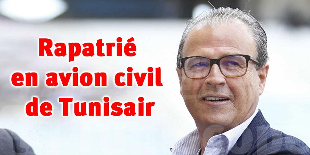 L'avion militaire tombé en panne, Khemakhem sera rapatrié en avion civil de Tunisair