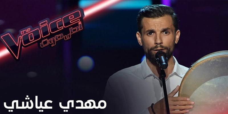 راغب علامة يكسر قواعد ''ذا فويس'' من أجل التونسي مهدي عياشي