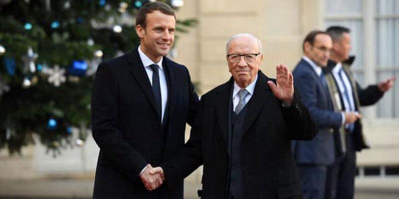 Le tweet émouvant du président français après les funérailles