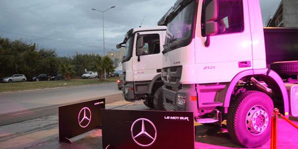 Le Moteur : nouvelle implantation à Sousse pour les V.I Mercedes-Benz