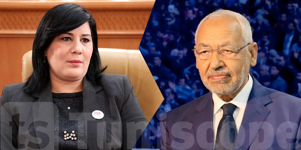 Moussi : Ghannouchi ne peut pas envoyer de député en mission officielle