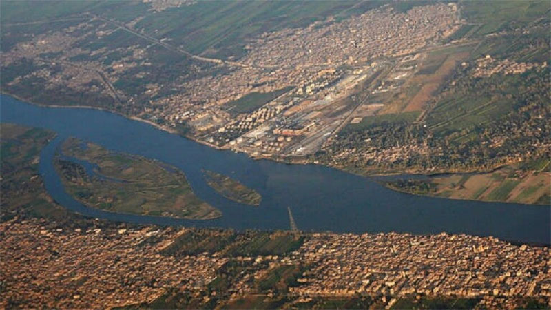 تدفق هائل لمياه النيل بشكل يفوق معدلات الأعوام السابقة