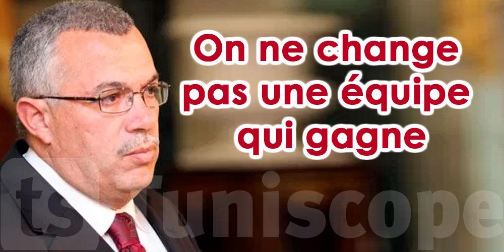 Pour Bhiri, il faut garder Ghannouchi à la tête d'Ennahdha