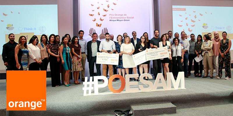أورنج تونس تعلن عن الفائزين الثلاثة في المسابقة الوطنية للمشاريع الإجتماعية لمنطقة إفريقيا والشرق الأوسط لسنة 2019