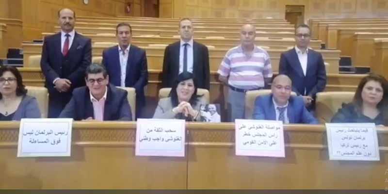 Les députés du PDL ont le droit d'observer un sit-in à l'ARP