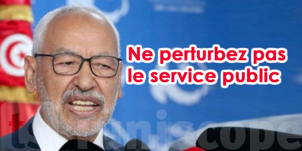 Ghannouchi appelle les magistrats à reprendre le travail
