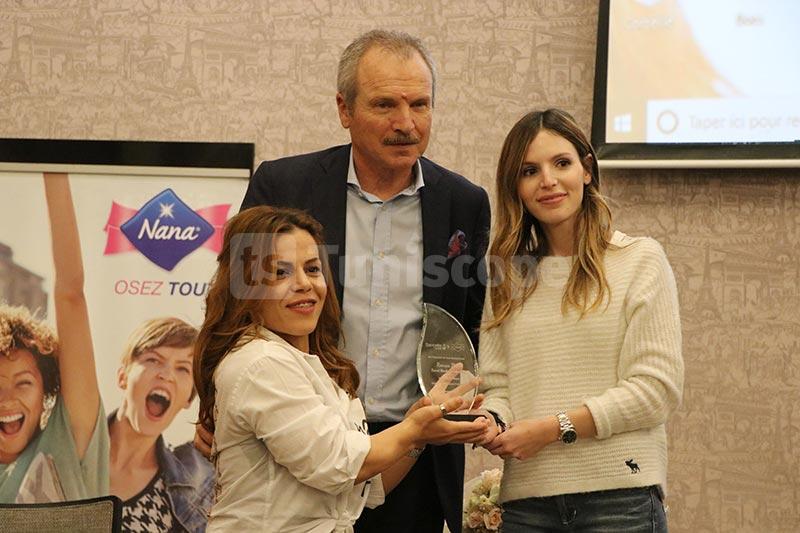En photos : Le groupe Sancella organise une cérémonie en l'honneur de la championne Raoua Tlili