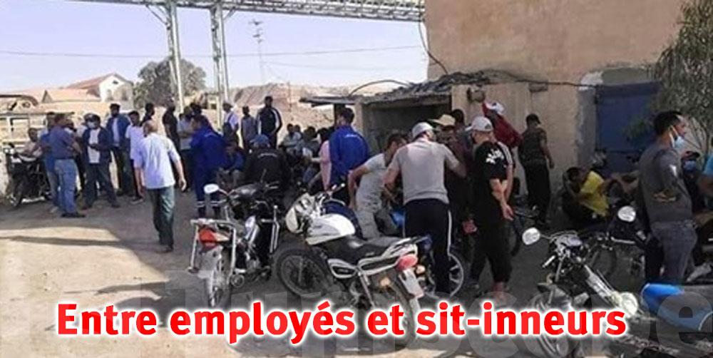Accrochages entre demandeurs d'emplois et employés de la CPG à Redeyef
