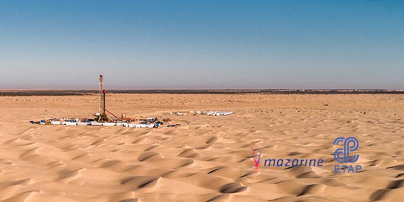 A Gabes, un important gisement pétrolier découvert en Tunisie par Mazarine Energy et l'ETAP
