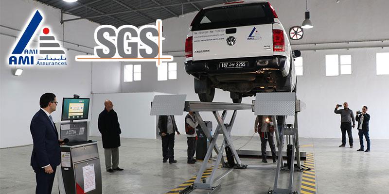 Inauguration du premier centre de contrôle technique automobile et lancement de la division transport de SGS en Tunisie