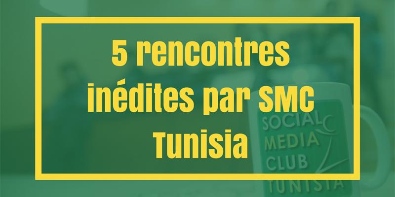 5 rencontres inédites par le SMC Tunisia