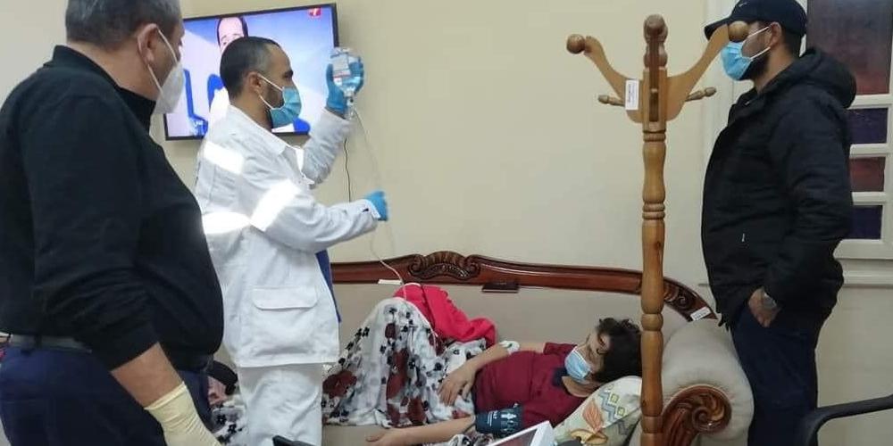 Samia Abbou admise à l'hôpital