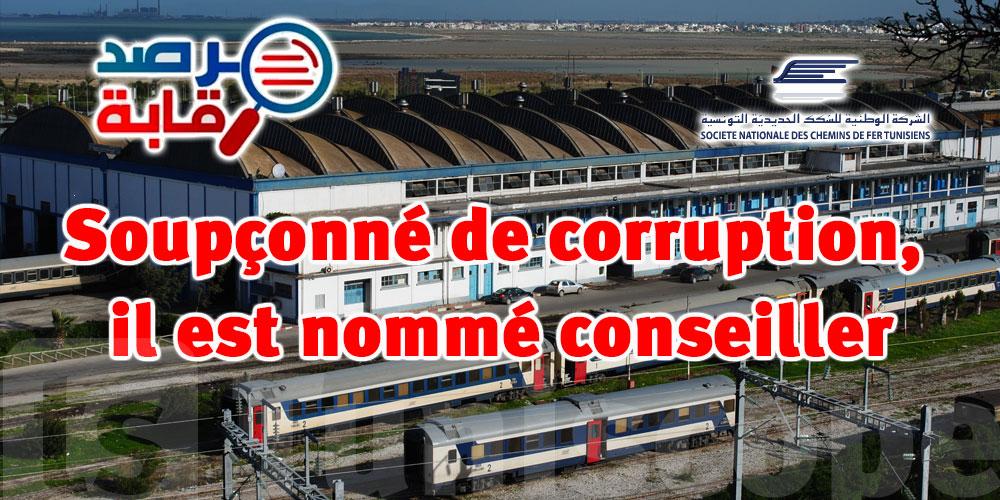Après une arrestation de 9 mois sur suspicion de corruption, il est nommé conseiller à la SNCFT