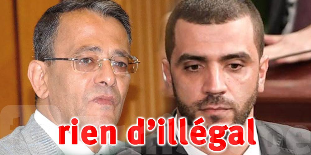 Aucune infraction de la loi dans ce qu'a fait Rached Khiari, déclare Ahmed Souab